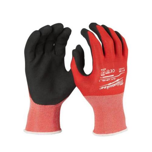 Перчатки с нитриловым покрытием XL/10, ур. сопротивл. порезам 1 MILWAUKEE 4932471418